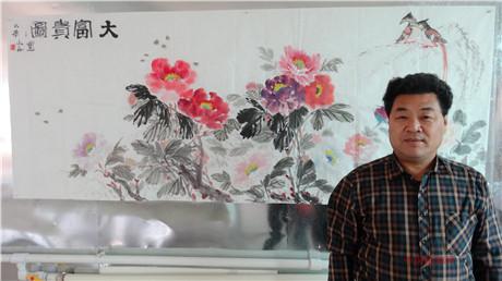 【中国画都网】精品推荐艺术名家王玺安