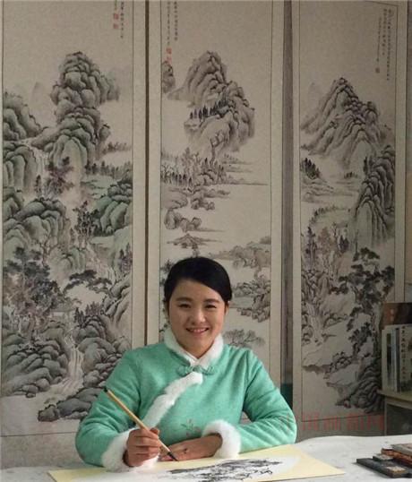 【中国画都网】推荐艺术名家孟真