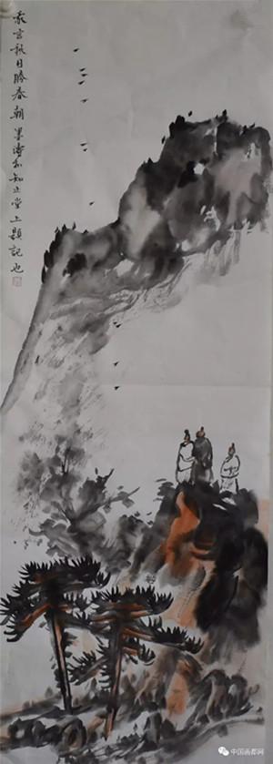 【中国画都网】鉴藏:王墨涛山水作品
